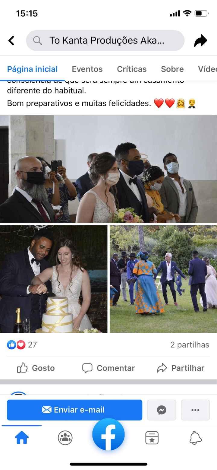 Os casamentos estão de volta 😊 - 2