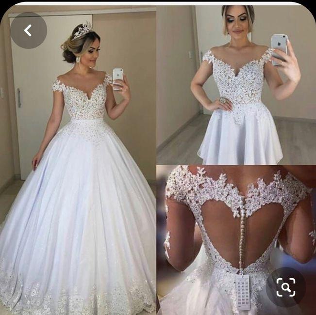 o que mais gosto num vestido de noiva - Sofia 2