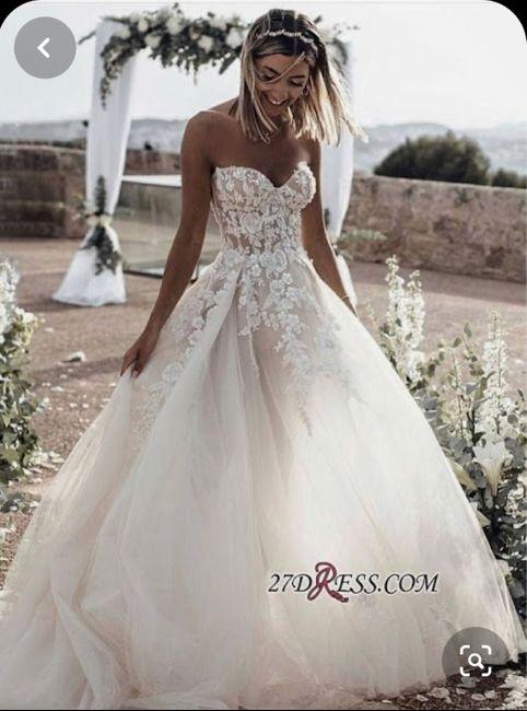 o que mais gosto num vestido de noiva - Sofia 4