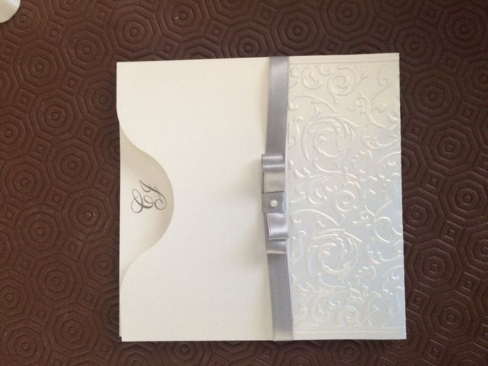 Nossos convites de casamento - 1