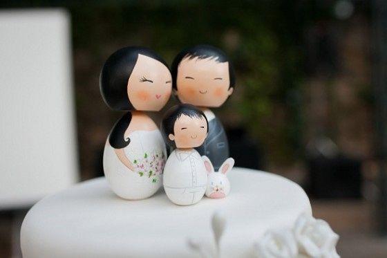 Topo de Bolo Baptizado + Casamento