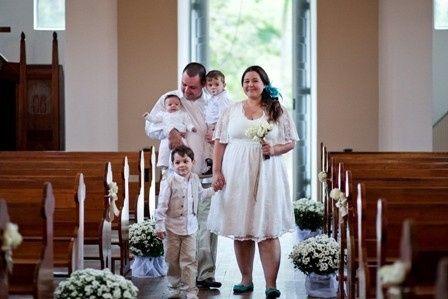 Entrada Igreja Baptizado + Casamento