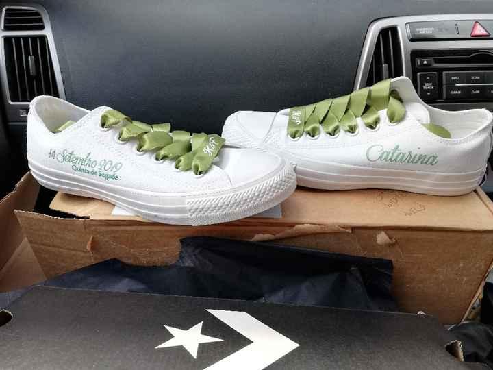 Os sapatos: S, M ou L? - 1