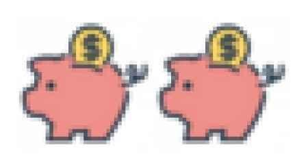 2 porquinhos