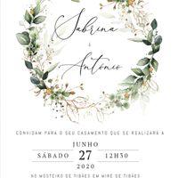 Convite frente