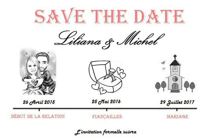 Save the date/reserve a data - 2