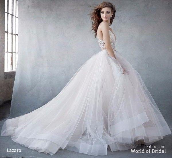 a50f4c15e Duelo de vestidos de novia Lázaro ¿cuál te gusta