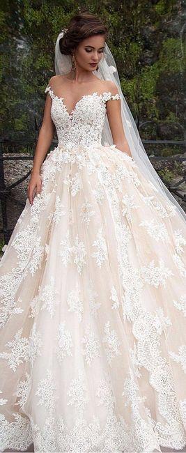 Se eu fosse milionária, escolheria este vestido 1