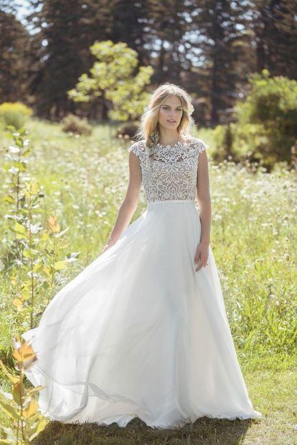5 vestidos de noiva de primavera. ESCOLHE! 1
