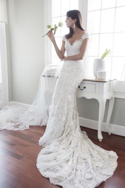 5 vestidos de noiva de primavera. ESCOLHE! 2