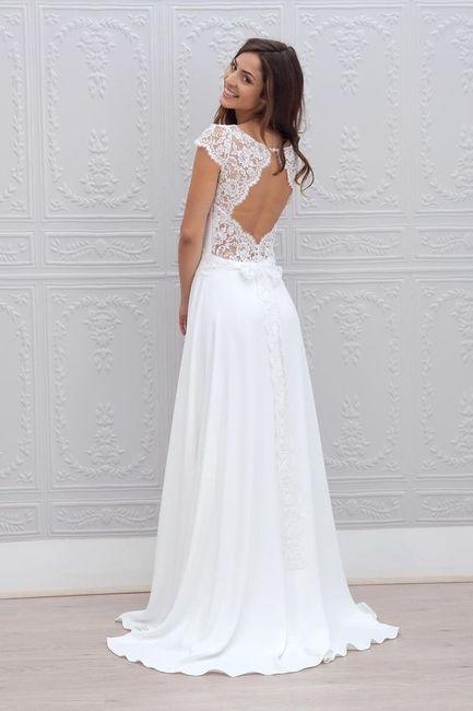 5 vestidos de noiva de primavera. ESCOLHE! 4