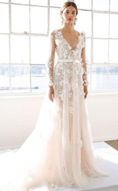 5 vestidos de noiva de primavera. ESCOLHE! 5
