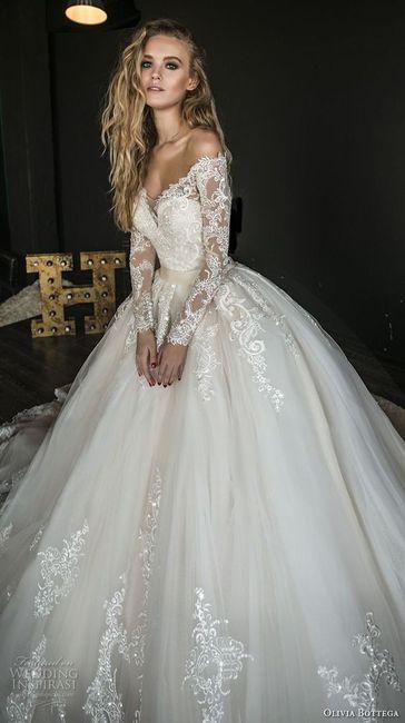 Noivas com estilo - a saia do vestido 👗 1