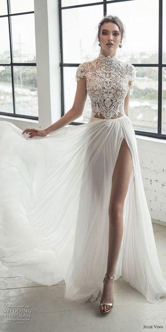 Noivas com estilo - a saia do vestido 👗 3