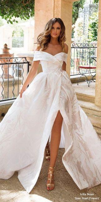 Noivas com estilo - a saia do vestido 👗 4
