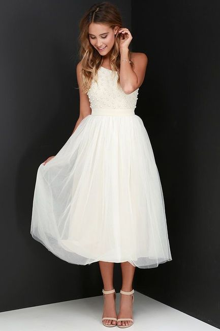Noivas com estilo - a saia do vestido 👗 5