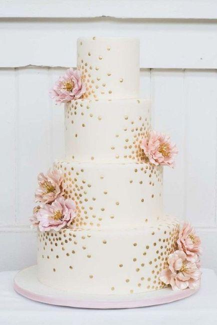 Noivas com estilo - o bolo de casamento 🎂 3
