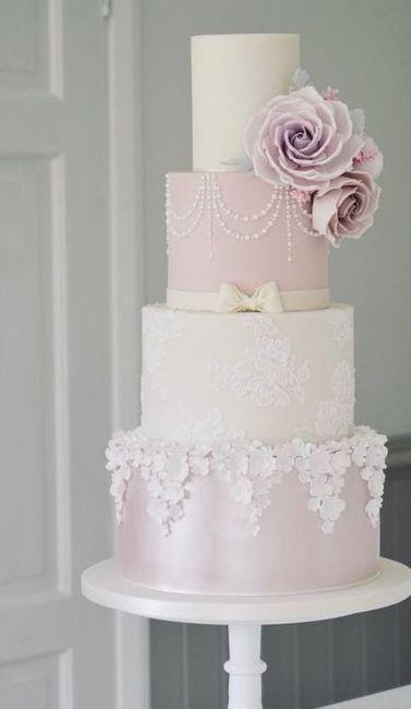 Noivas com estilo - o bolo de casamento 🎂 4