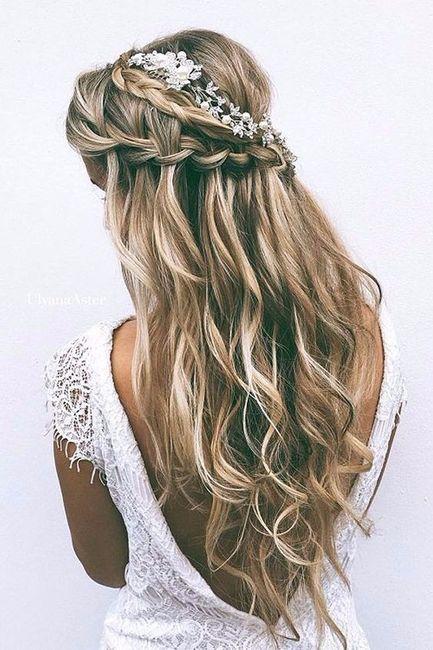 4 elementos, 4 estilos - O penteado 1