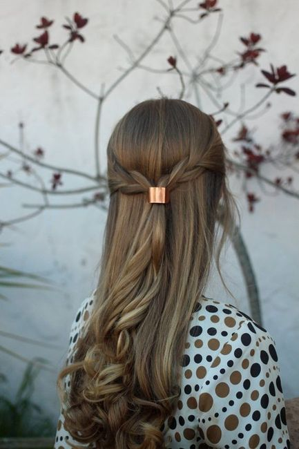 Menos é mais: 5 toucados para noivas minimalistas! 5