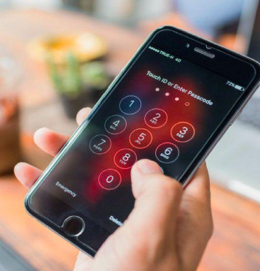 Que tenha a password do teu telemóvel 1