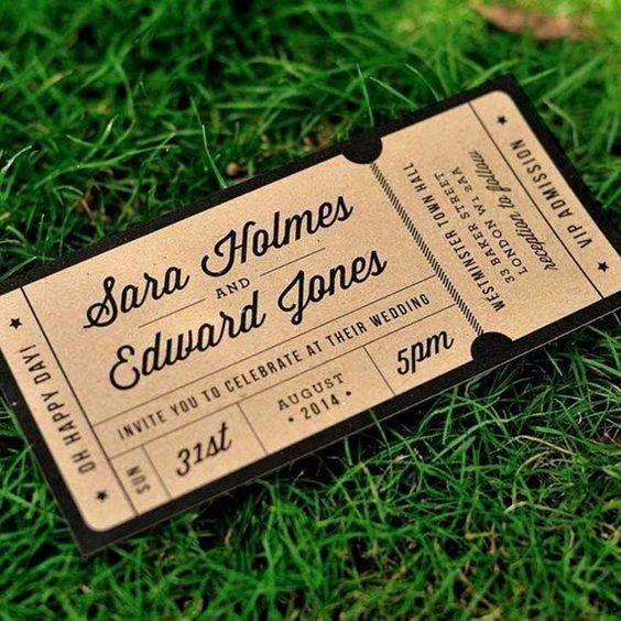 Que design gostavas de ter nos teus convites? 1