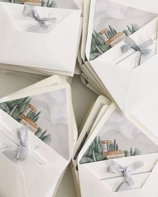 Se tivesses que escolher um destes envelopes, qual seria? 3