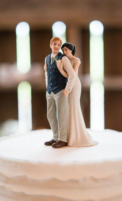 Com que cake topper casarias? 1