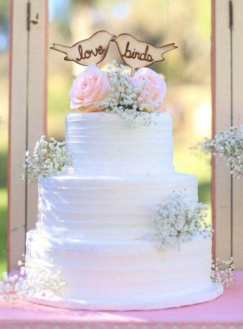 Com que cake topper casarias? 2