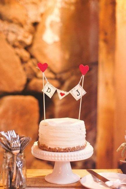 Com que cake topper casarias? 3