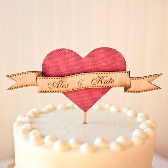 Com que cake topper casarias? 4