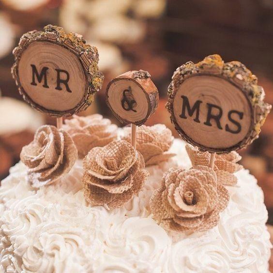 Com que cake topper casarias? 5