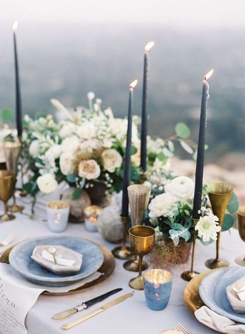 Apaixonei-me por...este centro de mesa! ❤️ 1