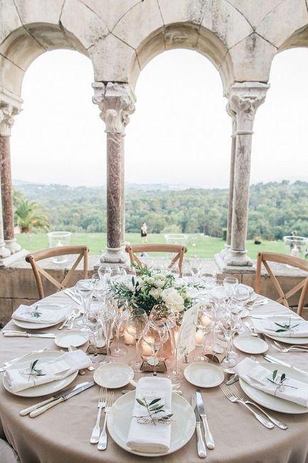 Apaixonei-me por...esta mesa de convidados! ❤️ 1