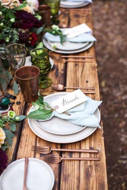 Apaixonei-me por...esta mesa de convidados! ❤️ 2