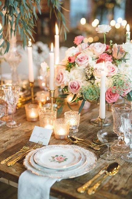 Apaixonei-me por...esta mesa de convidados! ❤️ 3
