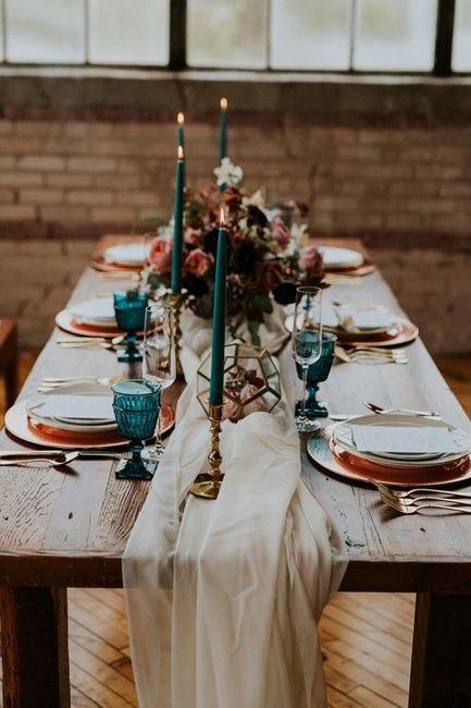 Apaixonei-me por...esta mesa de convidados! ❤️ 4