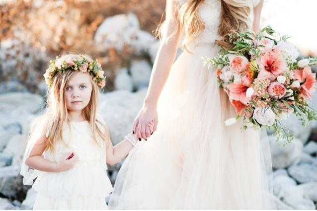 sesión de foto madre e hija