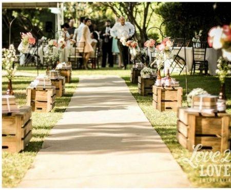 Matrimonio Rustico Como : Detalles de madera un matrimonio rústico