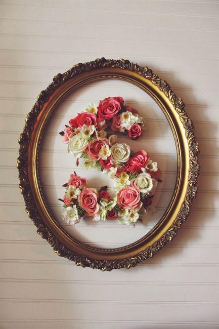 Diy letras de flores 1