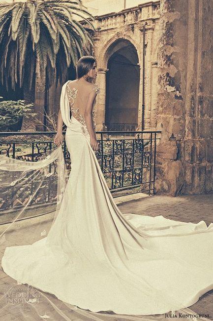 Precios vestidos novia julia kontogruni
