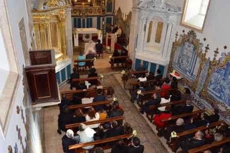 A cerimonia vista de cima
