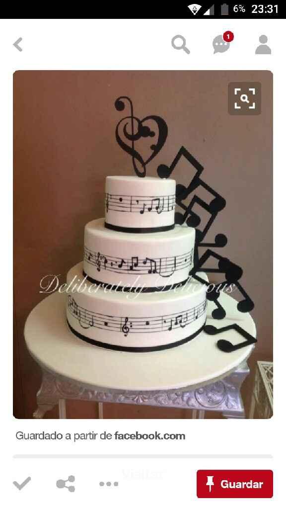 Ideias de bolos de casamento - 2