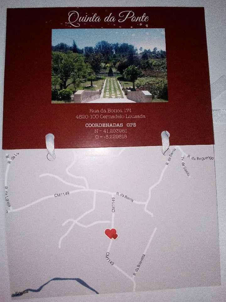 Convites casamento tema viagens - 4