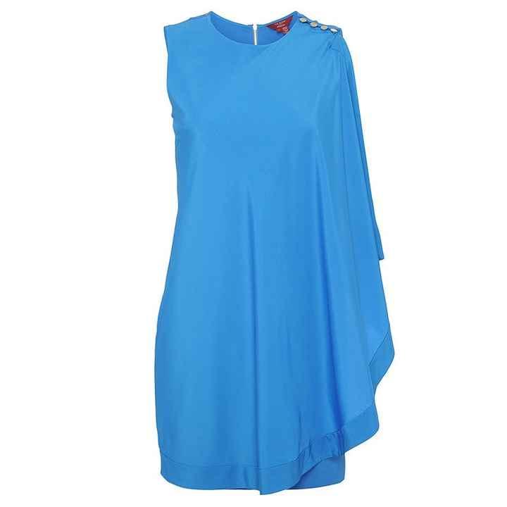 TB blue dress