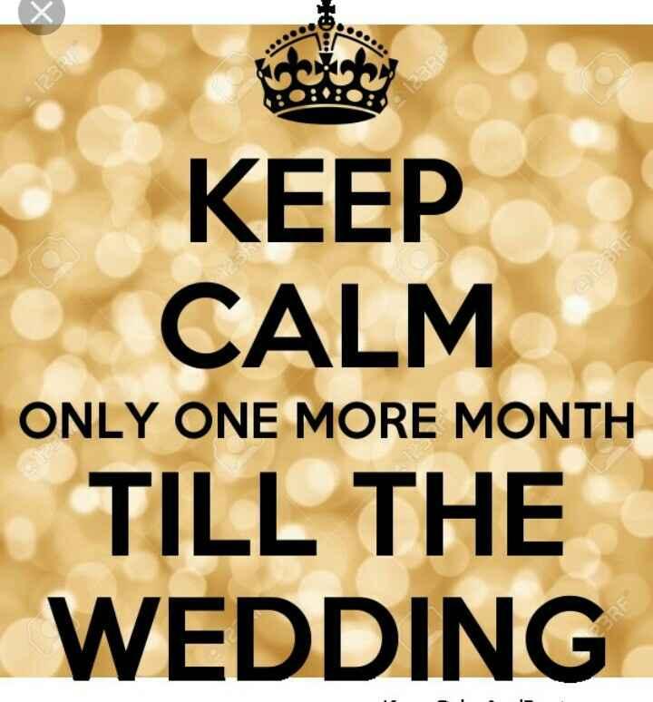 Countdown .... 1 mês .... - 1