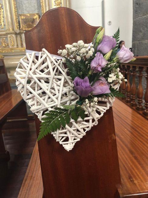 Inspirações pinterest | Decoração floral de cadeiras no corredor nupcial 9
