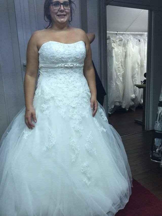 1 prova de vestidos de noiva
