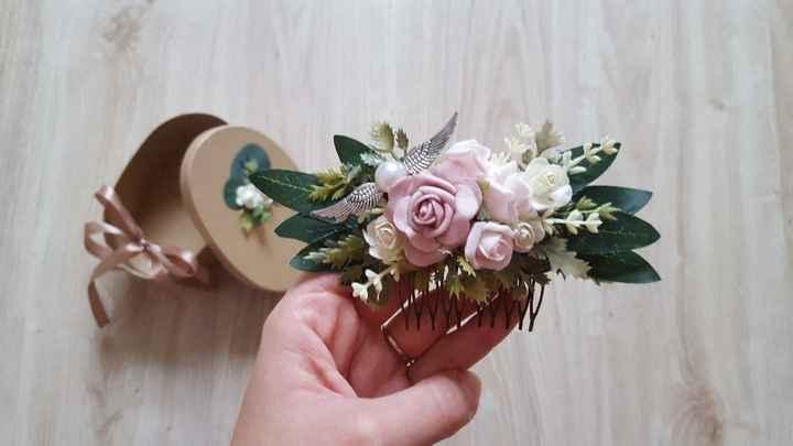 Flores para o cabelo - 1
