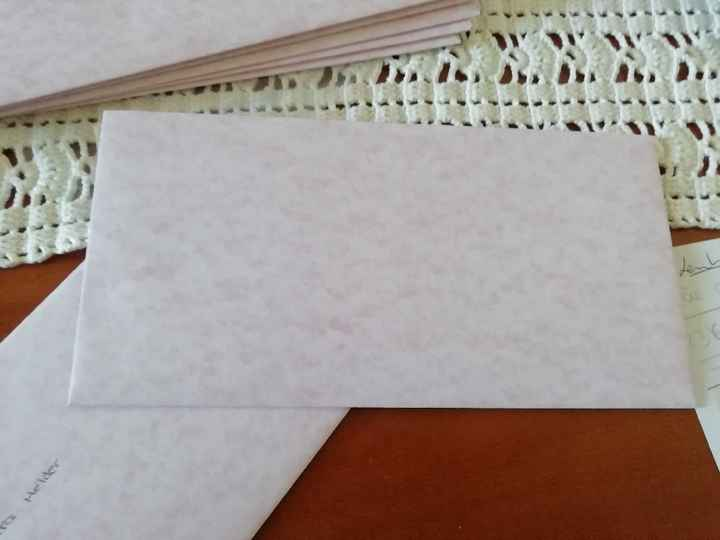 Convites e envelopes - 1